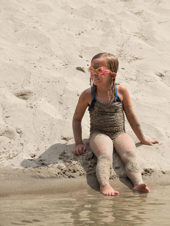 Main Salmon Sandy beach play time