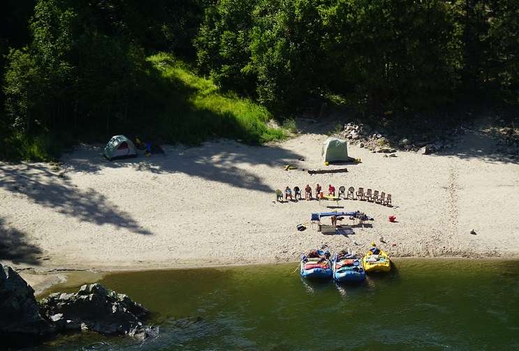 Action Whitewater Adventures-Main Salmon rafting