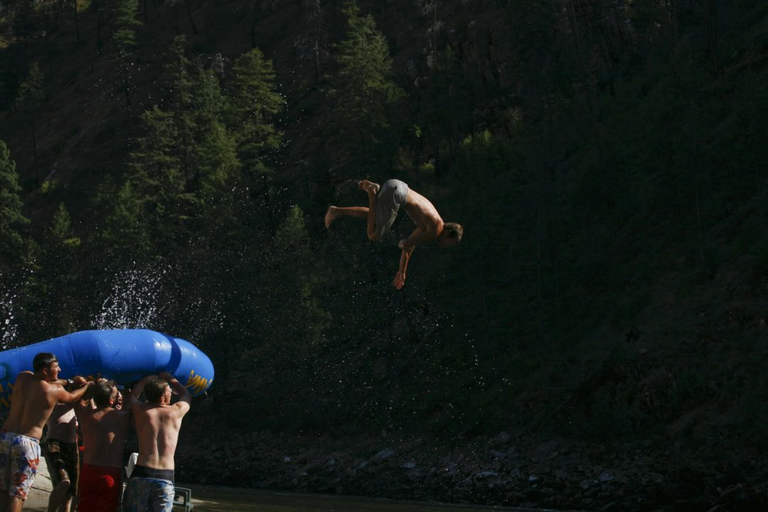 Main Salmon Rafting