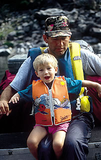 family adventures-main salmon river
